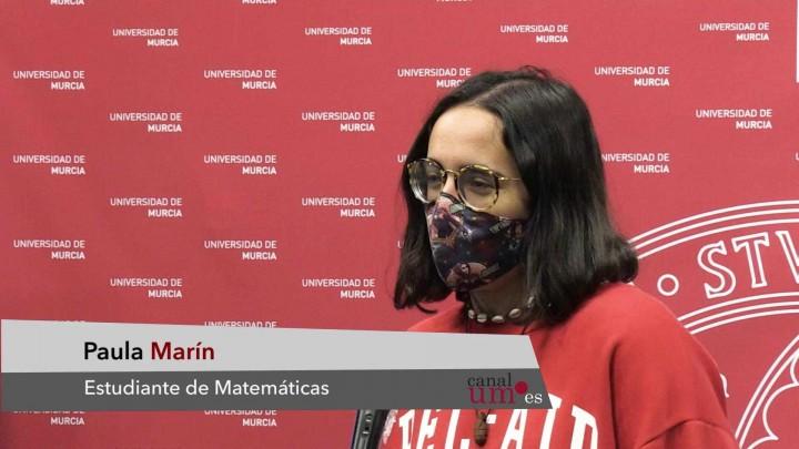 Paula Marín, José Iborra y María José Espallar, ganadores del I Concurso de Relatos de Radio UM
