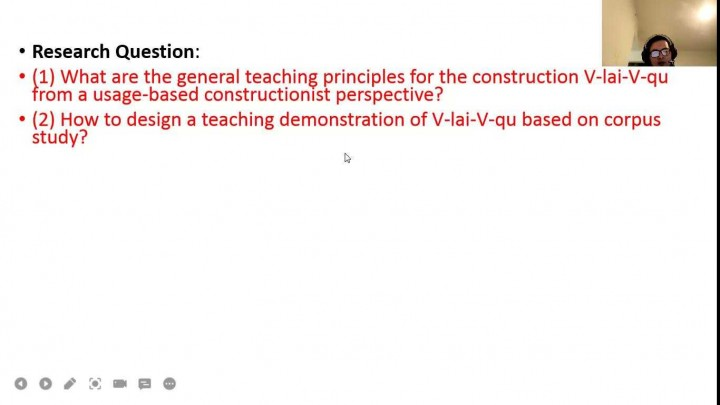A corpus-based study of teaching Chinese verbal construction V-lai-V-qu
