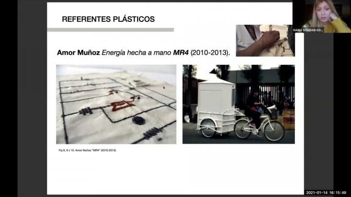 Metamorfosis textil.  Maria Soledad González-Reforma Martinez