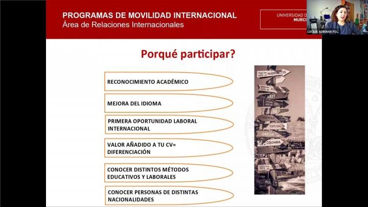 Jornadas Informativas de Movilidad Internacional #JIMI2020 - Erasmus+ Movilidad Internacional