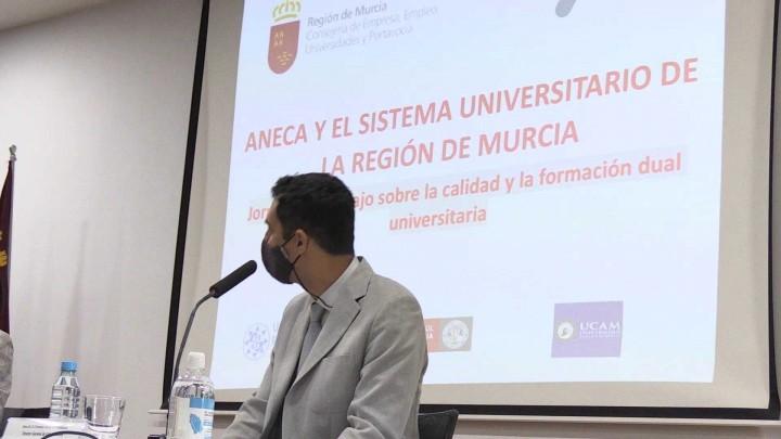 Hoy os hablamos de la jornada 'ANECA y el Sistema Universitario de la Región de Murcia'