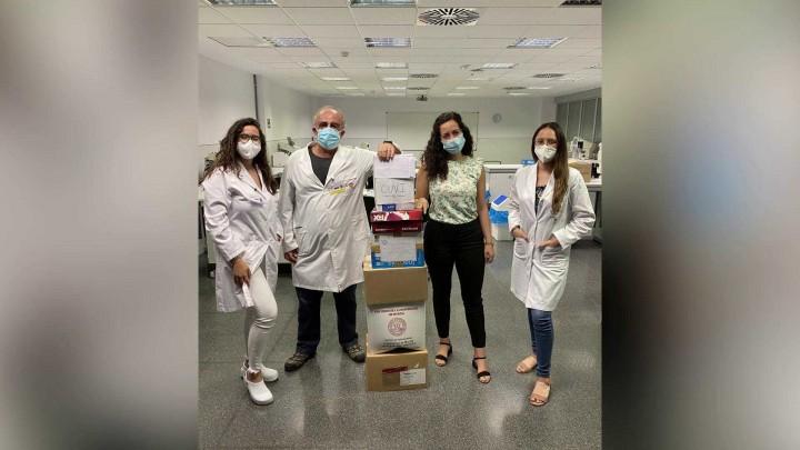 La CUVI ha donado gafas usadas a la ONG Azul en Acción