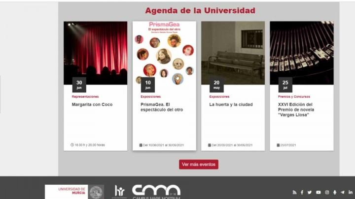 ¿Has visto los cambios que se han realizado en la web de la Universidad de Murcia?