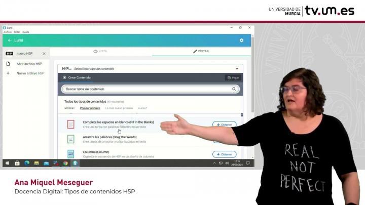 Cómo crear o reutilizar contenidos interactivos H5P en LUMI