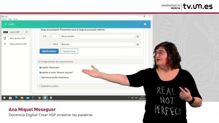 Cómo crear un contenido interactivo H5P: Arrastrar palabras.