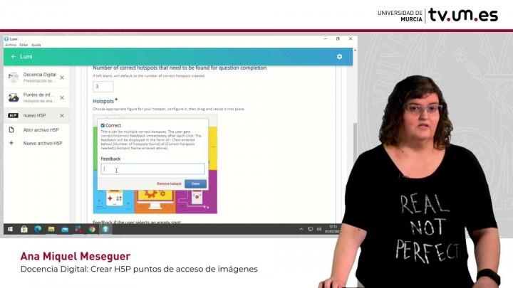 Cómo crear contenido interactivo H5P: Imagen con múltiples puntos de acceso para encontrar