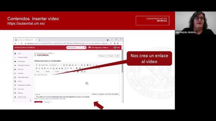 Grabación, edición y publicación de videoclases con o sin estudiantes