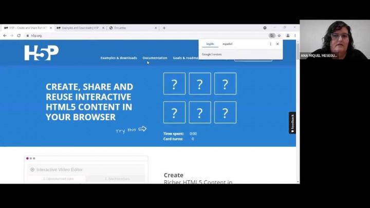 Diseño de contenidos interactivos con H5P y LUMI