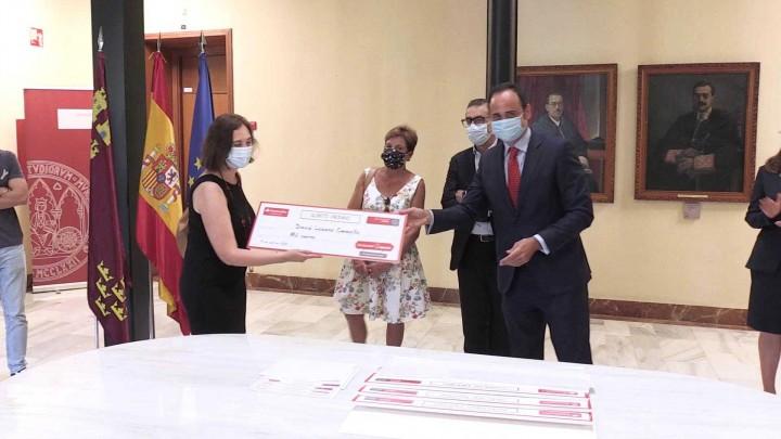 La Universidad de Murcia ha entregado los premios 'Santander Ingenio Bernardo Cascales'
