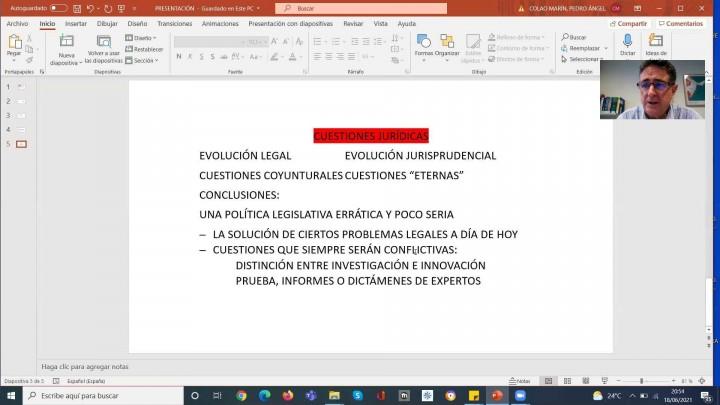 Pedro Colao. Evolución de la deducción por I+D+i