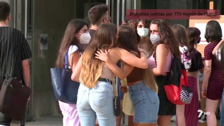 Noticia de 7RM sobre el comienzo del curso en la Universidad de Murcia
