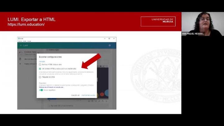 Diseño de contenidos interactivos H5P y LUMI: Crea un presentación interactiva
