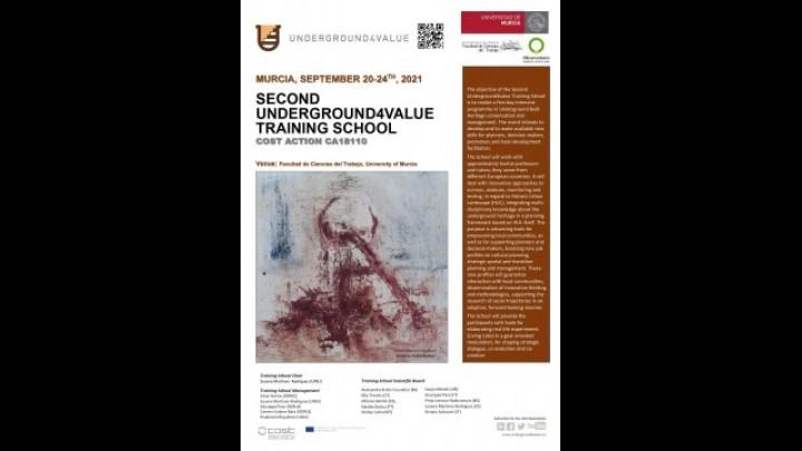 Second Underground4value Training School- COST Action CA18110
