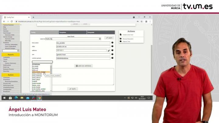 Configuración de monitorum