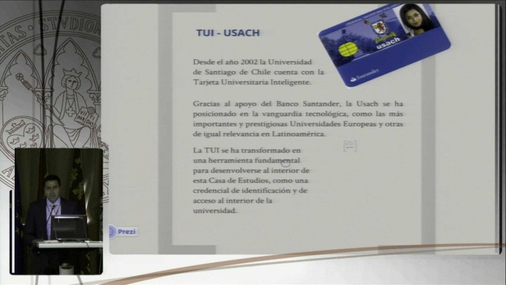Uso de la TUI en el pago en el Transporte. Universidad Santiago de Chile