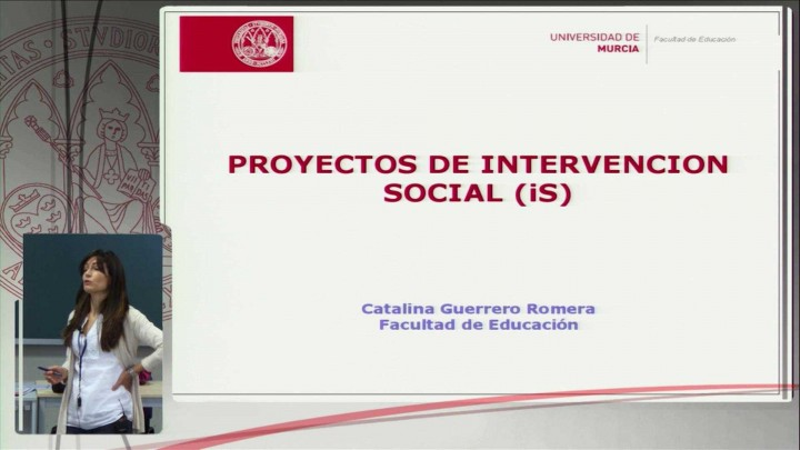 Proyectos de intervención social