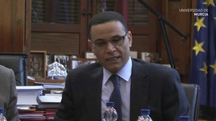 Visita Director Instituto Egipcio