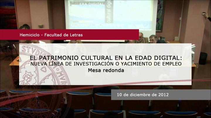 Patrimonio cultural en la era digital