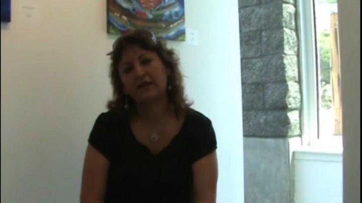 Reflexiones sobre la obra pictórica de Blanca Santander