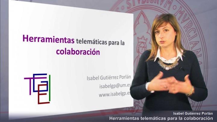 Herramientas telemáticas para la colaboración