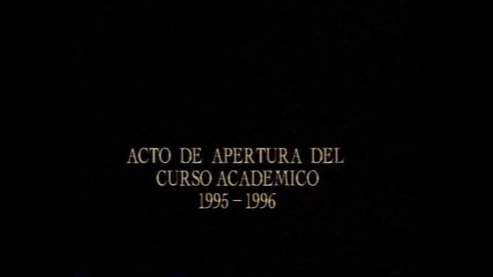 Apertura Curso 1995 e Investidura Doctor Honoris Causa Mario Vargas Llosa