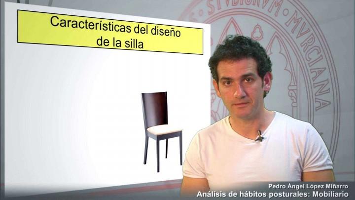 Análisis de hábitos posturales: El mobiliario