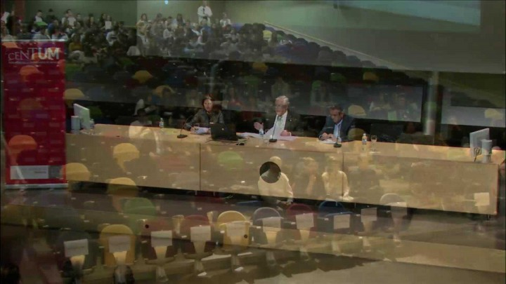 """Conferencia """"Futuro de la Universidad, globalización y competitividad de conocimiento"""" a cargo de Andrés Pedreño Muñoz"""
