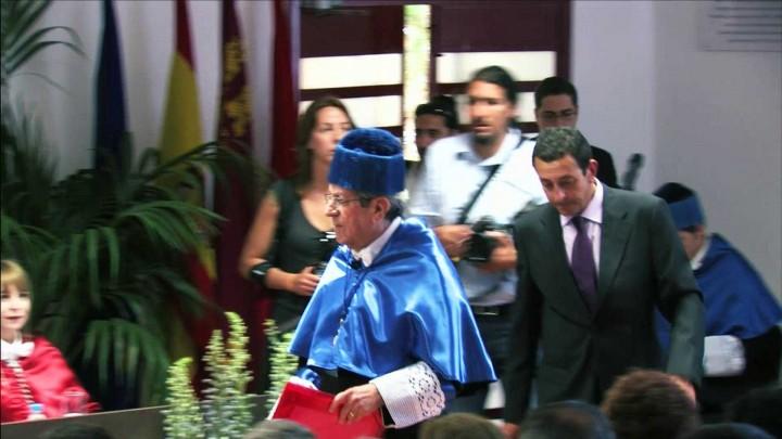 Discurso del nuevo Doctor Honoris Causa
