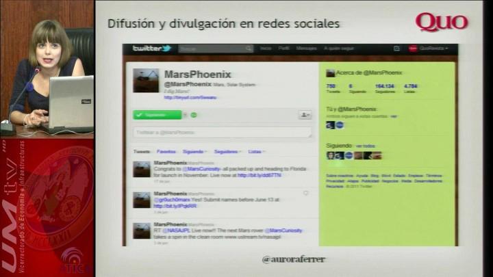 Divulgación y difusión científica en las redes sociales