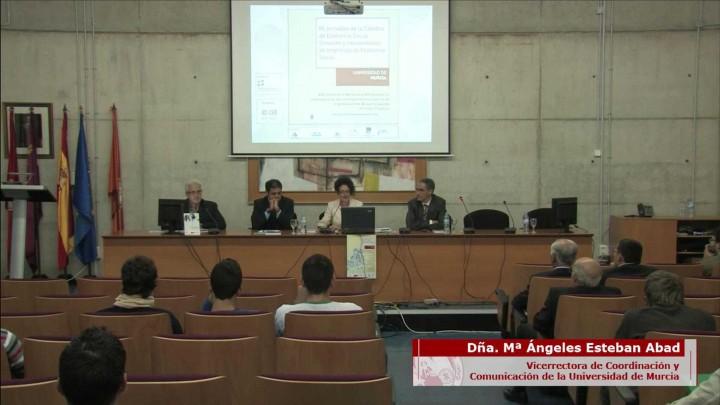 """Presentación del Libro """"Grandes Siglas de Entidades de Economía Social de la Región de Murcia"""""""