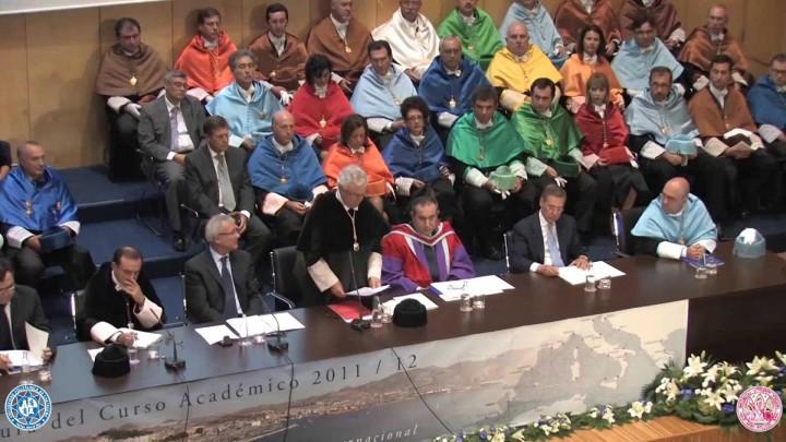 Discurso del Rector de la Universidad de Murcia