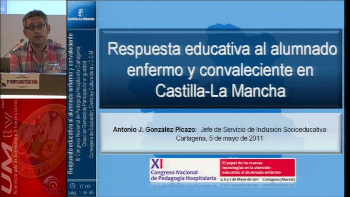 Respuesta educativa al alumnado enfermo y convaleciente en Castilla-La Mancha