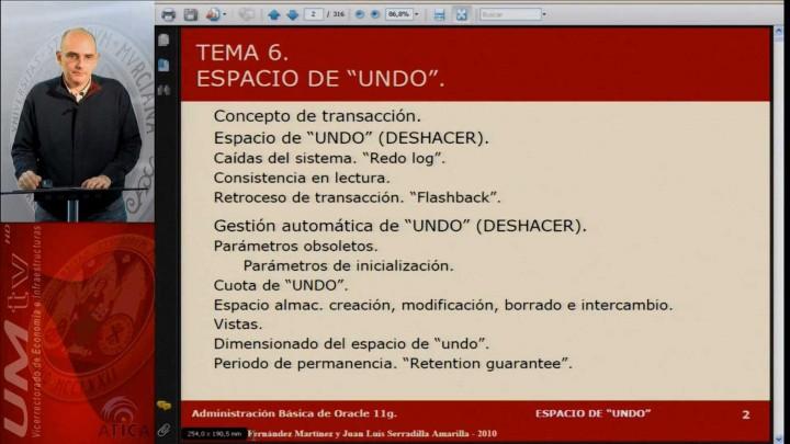 """Tema 6: Espacio de """"UNDO"""" (DESHACER)"""