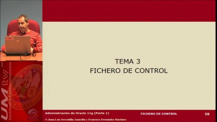 Tema 3: Fichero de control