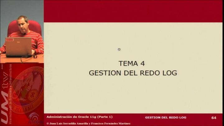 Tema 4: Gestión del redo log