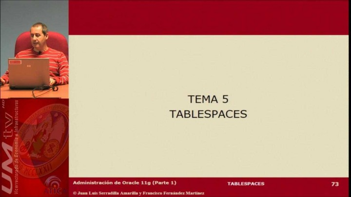 Tema 5: Tablespaces