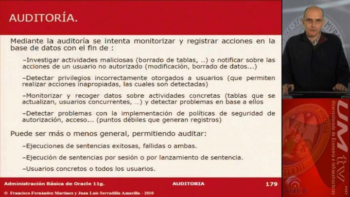 Tema 9: Auditoría