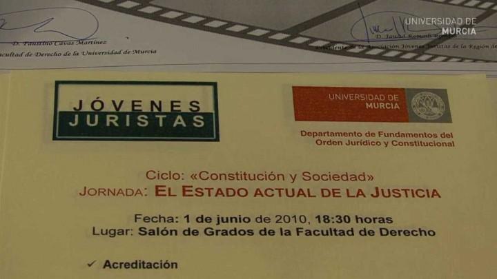 Conferencia ministro de Justicia - Plan Nacional de I+D+i