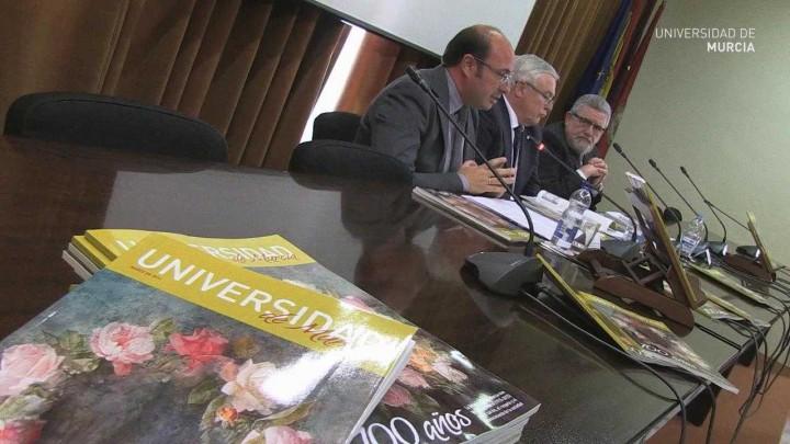 Presentación Revista Centenario Universidad