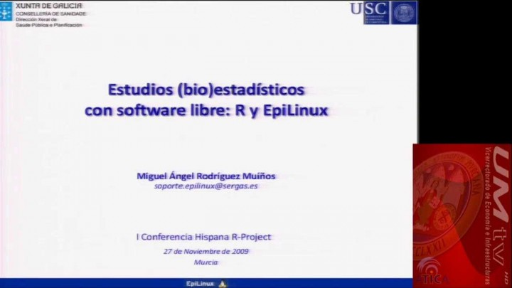 Estudios (bio)estadísticos con software libre: R y Epilinux